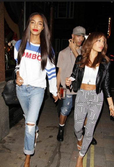 Girls just want to have fun! Jourdan heads out clubbing with friends in tow.