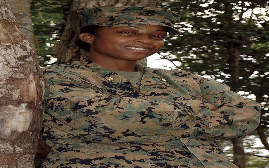 Lieutenant Colonel Kisha Flagg is a Diversity Management Liaison Officer in the U.S. Marine Corps.