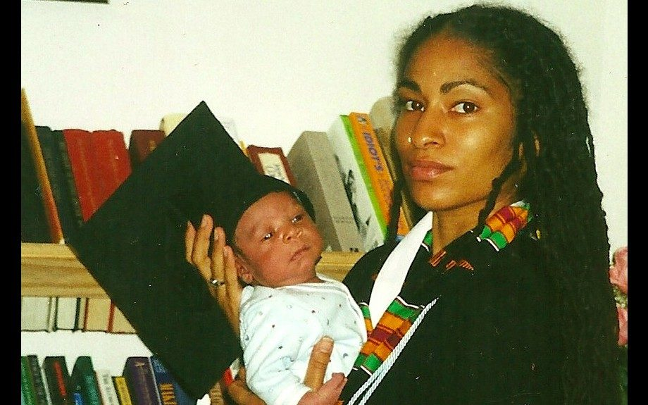 The academic goddess. Ruha had her first child, Malachi, a week before graduating from Spelman. She gave birth to Khalil two years later, while she was a grad student at the University of Berkeley, California.