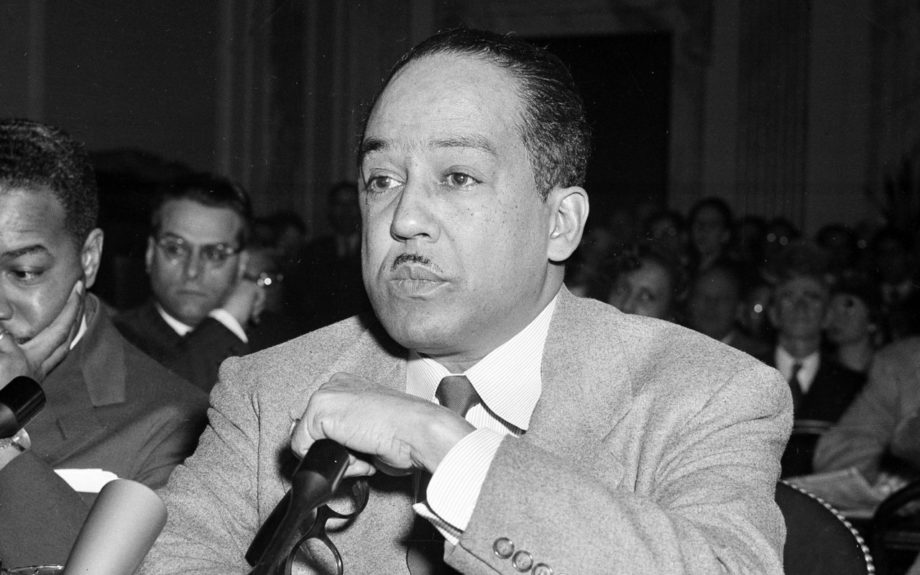 Renowned Poet and Author, Langston Hughes