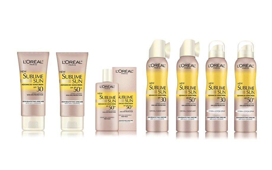 SPF - L'Oreal Sublime Sun collection offers a range of options for sunscreen all the way to a SPF 50! L'Oreal Sublime Sun Advanced Sunscreen Crystal Clear Mist SPF 50, target.com, $10.99
