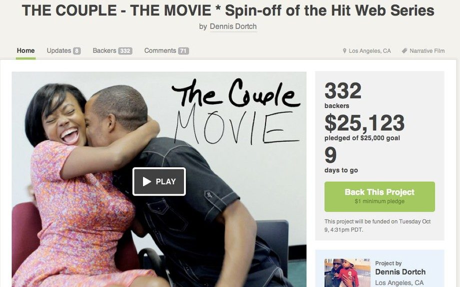 <em>The Couple Movie</em> is on deck! They are currently in pre-production