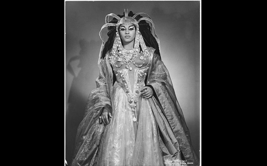 Leontyne Price was one of the first African Americans to become a leading artist at the Metropolitan Opera.