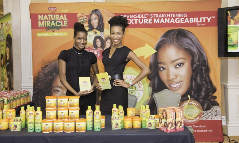 The African Pride ladies show off the latest products we are sure to love.