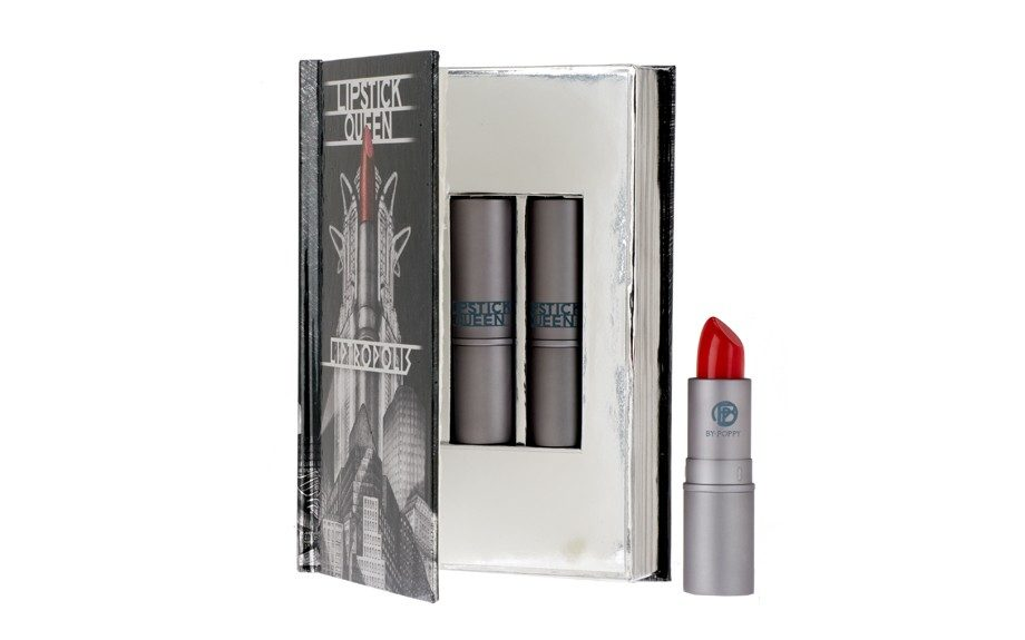MAKEUP - This red is on fire, and will take your summer look up a few notches! Lipstick Queen 2012 Liptropolis, qvc.com, $48