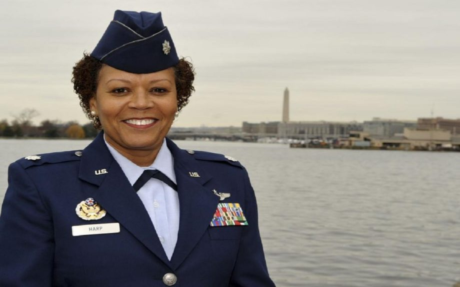 Air Force Lieutenant Colonel Mary Harp