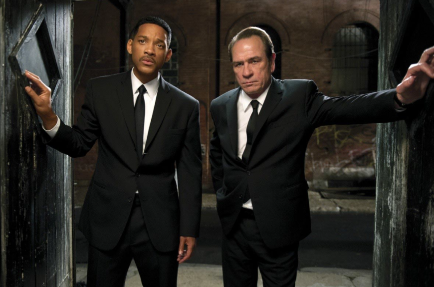 """<em>Men in Black </em>(1997): The Black and White buddy film was post-racial old hat by the late '90s. But when Will Smith famously uttered """"I make this look good,"""" he spoke to a whole history of Whites trying to be cool by association."""
