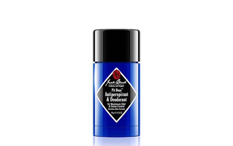 "<div> 	Stop buying your deodorant in bulk, and opt for Jack Black's Pit Stop, it keeps you protected all day, while actually smelling good. <a href=""http://www.groominglounge.com/jack-black-pit-boss-antiperspirant-and-deodorant.html"" target=""_blank"">Jack Black Antiperspirant and Deodorant </a>"