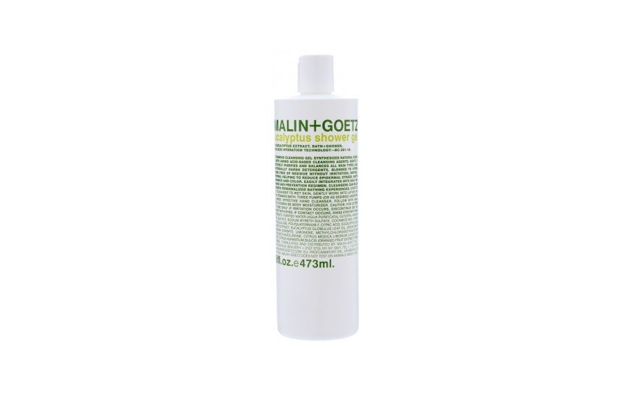 "<div> 	Blended specifically for sensitive and eczema prone skin, this is the body wash that'll keep you hydrated after a nice long shower. <a href=""http://www.malinandgoetz.com/body/eucalyptus-body-wash-16oz"" target=""_blank"">Malin + Goetz Eucalyptus Body Wash </a>($32.00)</div>"