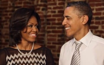 President Barack Obama and First Lady Michelle Obama Talk First Date