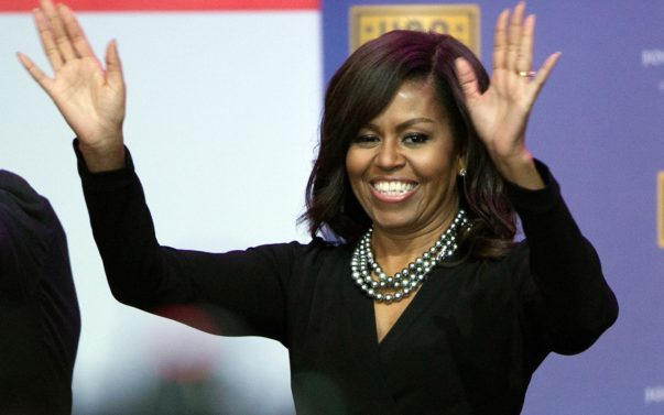 Michelle Obama Sports Her Au Naturale Tresses