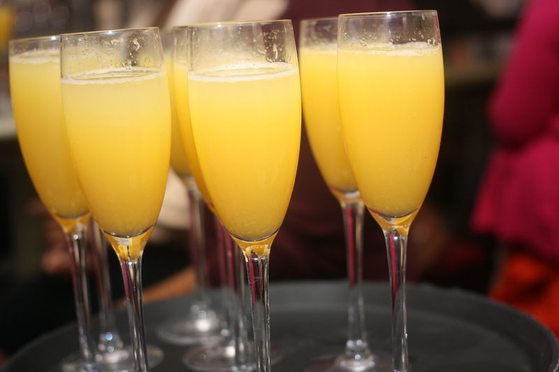 Guests and honorees enjoyed unlimited mimosas