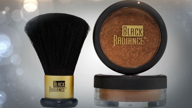 "<strong>Black Radiance Mineral Foundation</strong> ($7.99; <a href=""http://www.walgreens.com/store/c/black-radiance-perfect-blend-mineral-foundation-kit/ID=prod5512485-product?ext=gooBeauty_PLA_Foundation_prod5512485_pla&adtype=%7Badtype%7D&kpid=prod5512485&sst=713daebd-aa5c-9988-42"