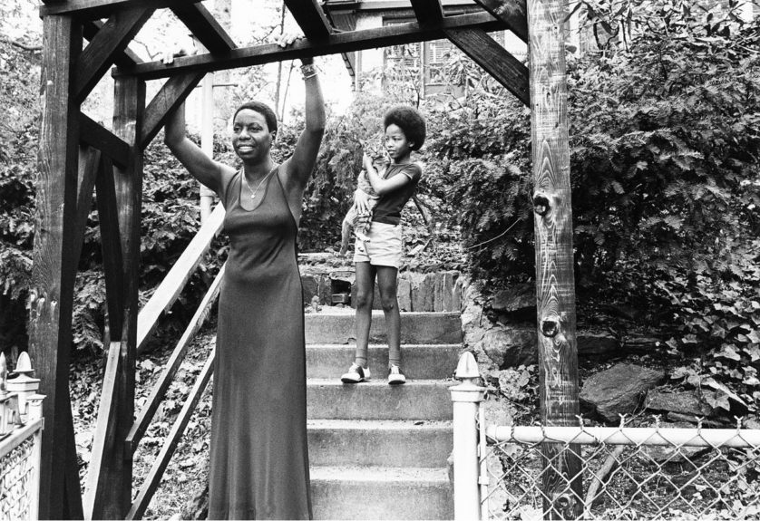 "Nina Simone with daughter Lisa Celeste Stroud.  	View the entire EBONY Collection <a href=""http://www.ebony.com/store#axzz2PsEj7sec"" target=""_blank"">here</a>."
