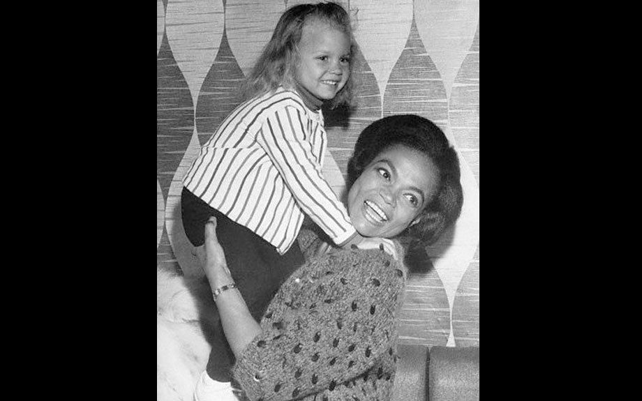 "The grand Eartha Kitt and her daughter Kitt McDonald  	View the entire EBONY Collection <a href=""http://www.ebony.com/store#axzz2PsEj7sec"" target=""_blank"">here</a>."