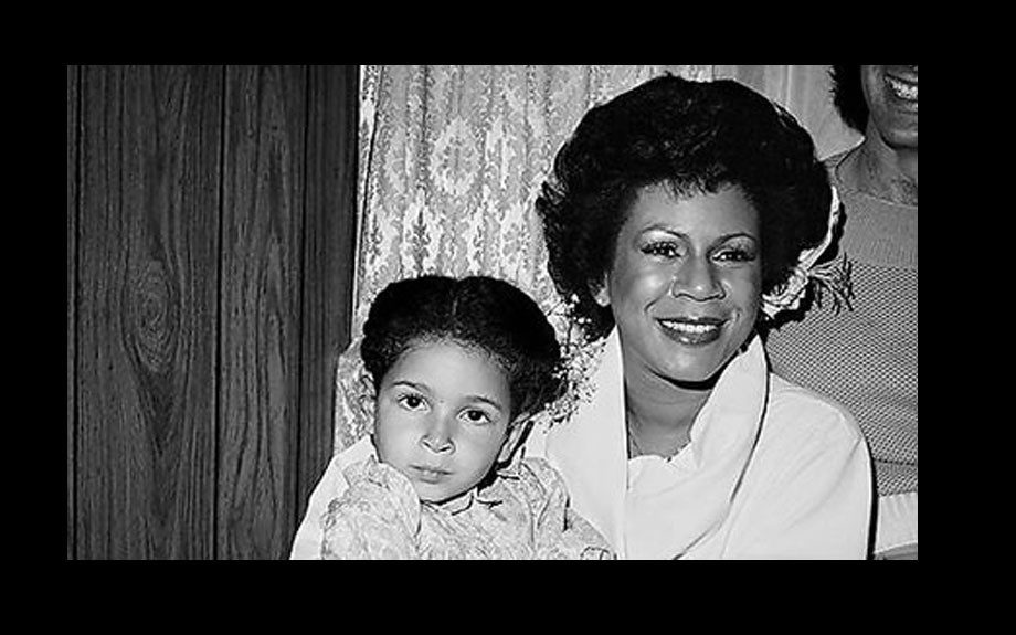 The great Minnie Riperton and her daughter, the would-be funnywoman Maya Rudolph
