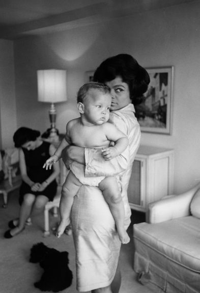 "Eartha Kitt having fun with daughter Kitt.  	View the entire EBONY Collection <a href=""http://www.ebony.com/store#axzz2PsEj7sec"" target=""_blank"">here</a>."