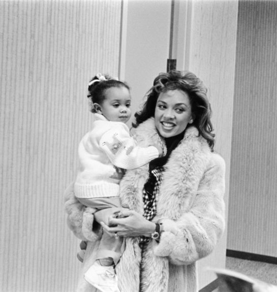 "Vanessa Williams photographed with her daughter Melanie. (Bob Johnson/ EBONY Collection)  	View the entire EBONY Collection <a href=""http://www.ebony.com/store#axzz2PsEj7sec"" target=""_blank"">here</a>."