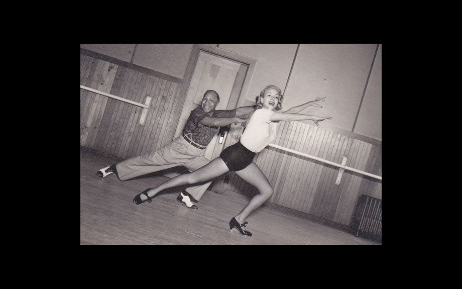 Tap Dancers Willie Covan and Monica Lewis
