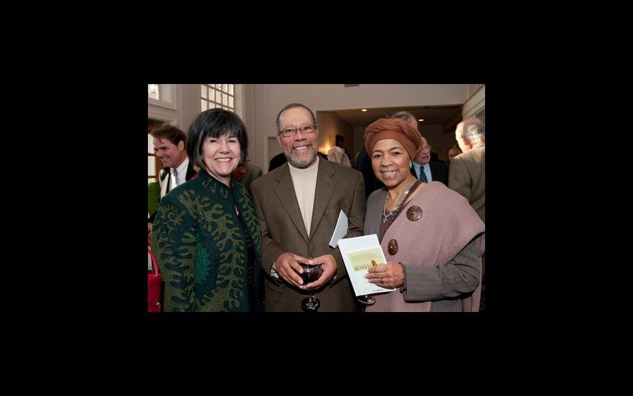 Vickie Morris, Jerry Pinkney and Gloria Pinkney at the Katonah Museum, 2009.
