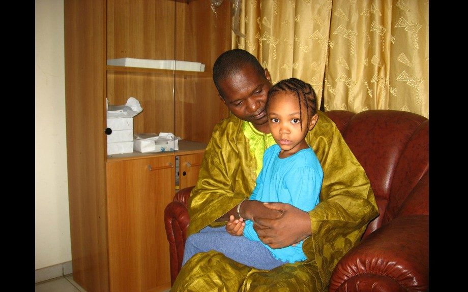 Muna and her father