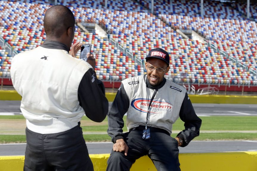 Do it for the 'gram! At Charlotte Motor Speedway