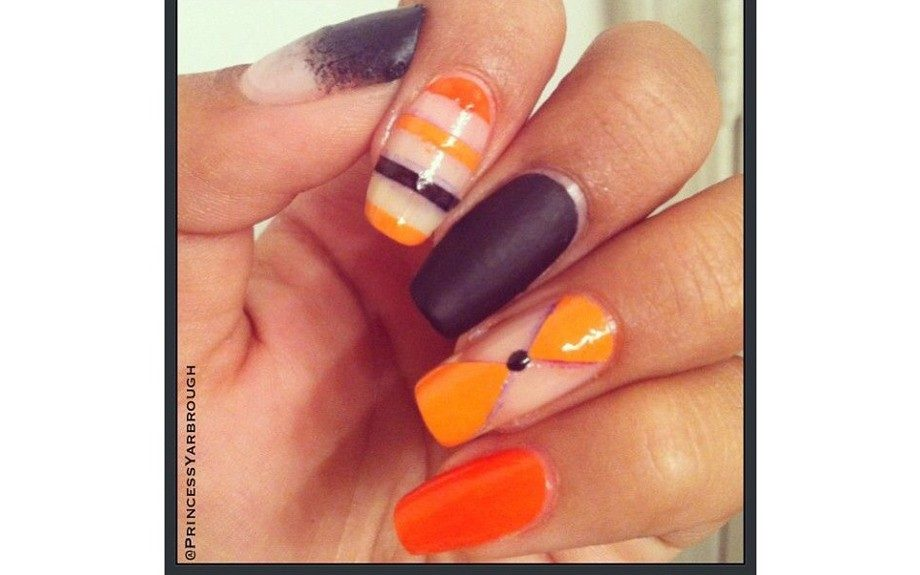 """""""Sometimes a man's input into your manicure might be the fresh eye you need for inspiration.""""  <em>Photo</em>: Jessica Yarbrough. Check her out onInstagram@PrincessYarbrough"""