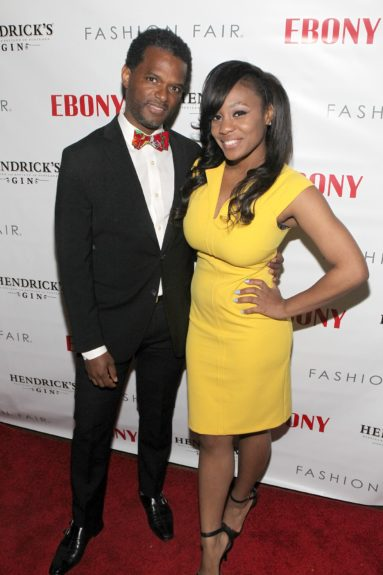 EBONY.com Arts & Culture Editor Miles Marshall Lewis and red carpet reporter Eeshé White
