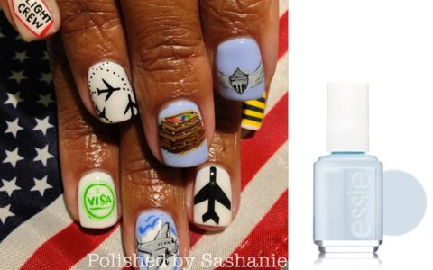 [NAIL FILES] A Travel-Inspired Mani Ready for Takeoff!