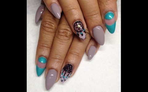 [NAILS OF THE WEEK] The Accent Nail Gets A Majestic Makeover
