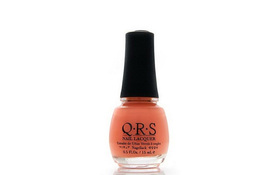 """Pink Show byQRS, $3.99,<a href=""""http://www.amazon.com/QRS-Nail-Lacquer-Collection-NPC279/dp/B00J87KQLY"""" target=""""_blank"""">Amazon</a>"""
