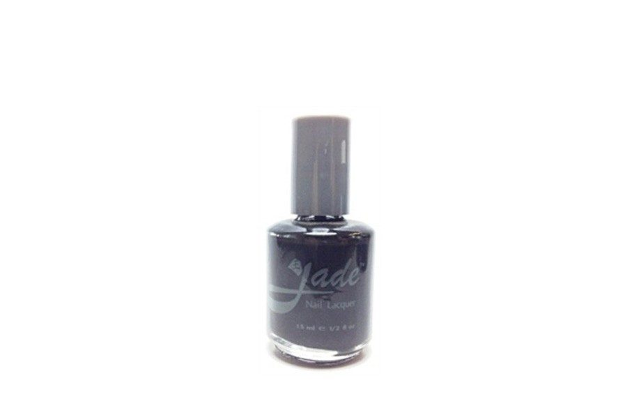 """<a href=""""http://www.warehousenails.com/c/57/jade-polish?pagesize=60&pagenumber=2"""" target=""""_blank"""">Black Knight by Jade</a>"""