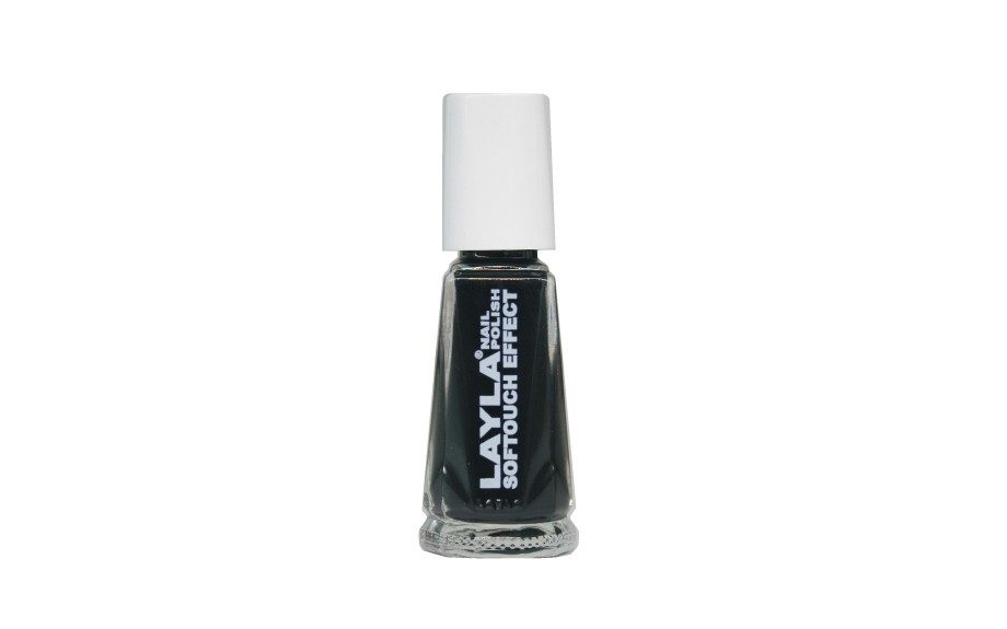 Layla Soft Touch Effect Ceramic Nail Polish in Noir Touch ($10.00; Zappos.com)