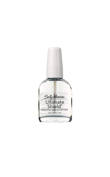 Sally HansenDouble Duty Top and Base Coat ($5; drugstore.com)