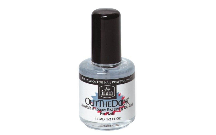 "INM Out the Door fast drying top coat ($5.49; <a href=""http://www.sallybeauty.com/Nail-Top-Coat/INM2,default,pd.html"" target=""_blank"">SallyBeauty.com</a>)"