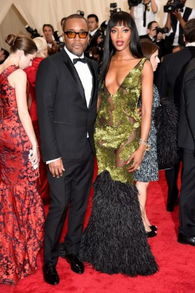 Lee Daniels and Naomi Campbell at the 2015 Met Costume Institute Gala