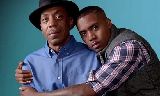 """Jazz trumpeter Olu Dara with son Nas recorded """"Life's a Bitch"""" (1993), """"Jungle Jay"""" (1998) and """"Bridging the Gap"""" (2004) together. Like father, like son."""