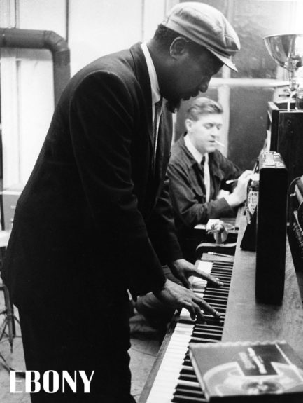 """Thelonious Monk in the May 1959 issue of EBONY Magazine. Shop the entire EBONY Collection<strong><a href=""""http://www.ebony.com/store#axzz2PsEj7sec"""" target=""""_blank"""">here</a></strong>."""