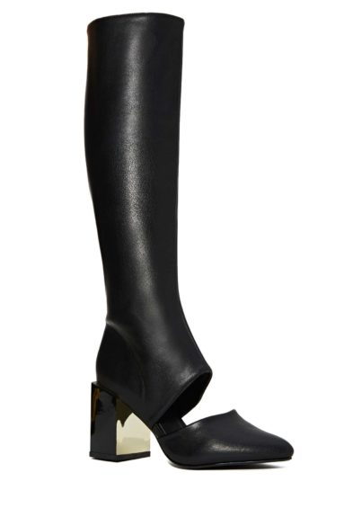 """<p style=""""margin-left: 0.25in;""""> It's not too warm for these Nasty GalAmaliBoots. Pair them with a skirt or culottes now and skinny jeans or leggings later in the season, $88,<a href=""""http://nastygal.com/shoes/amali-boot"""">www.nastygal.com</a>."""