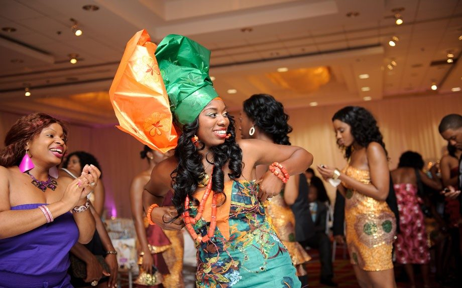 And the transition from American modernity to Nigerian tradition instantly gets the party started