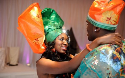BLACK WEDDING STYLE: Nigerian Couple Marries Modernity and Tradition