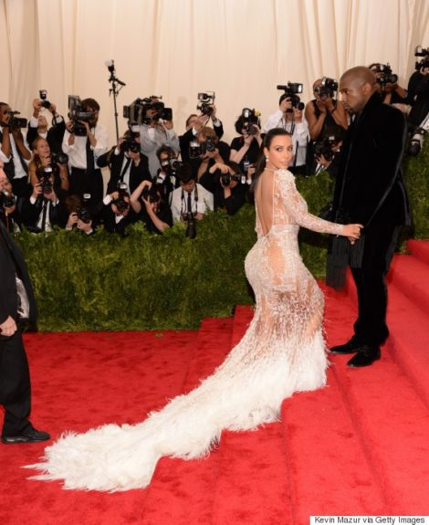 Kim Kardashian at the 2015 Met Costume Institute Gala