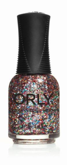 "Orly Glitterbomb Nail Polish, $8.50, <a href=""http://www.orlybeauty.com/nail-color/nail-color-by-types/glitter/glitterbomb.html"">www.orlybeauty.com</a>"