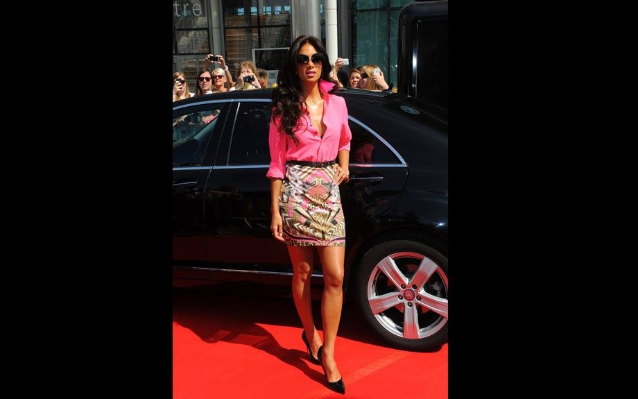 """<p class=""""p1""""> <span class=""""s1"""">Nicole Scherzinger attending the London auditions of The X Factor at Wembley Arena in London.</span>"""
