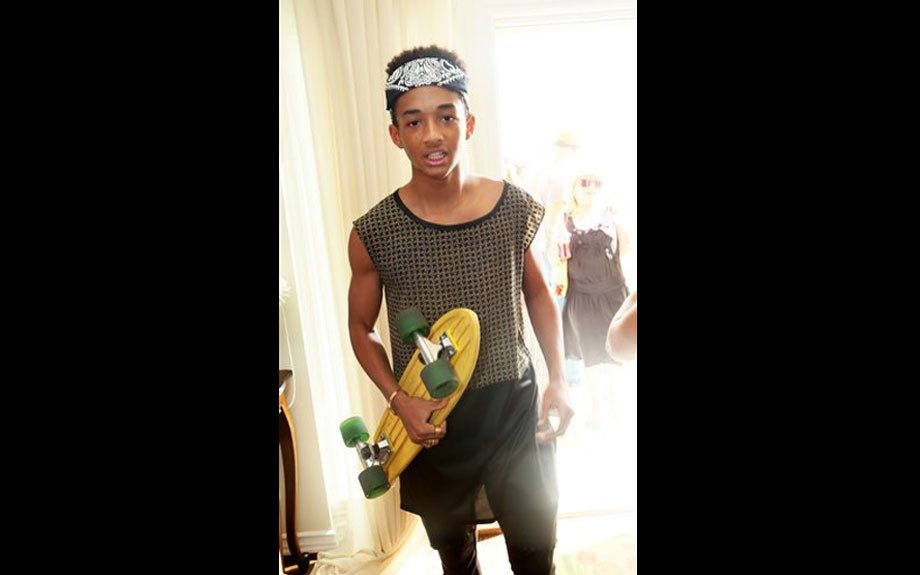 """<p class=""""p1""""> <span class=""""s1"""">Jaden Smith at Disney's Leo Howard's 16th Birthday at The Malibu Beach House Presented by Monsters Invade Oz on Sunday July 14, 2013 in Malibu .</span>"""