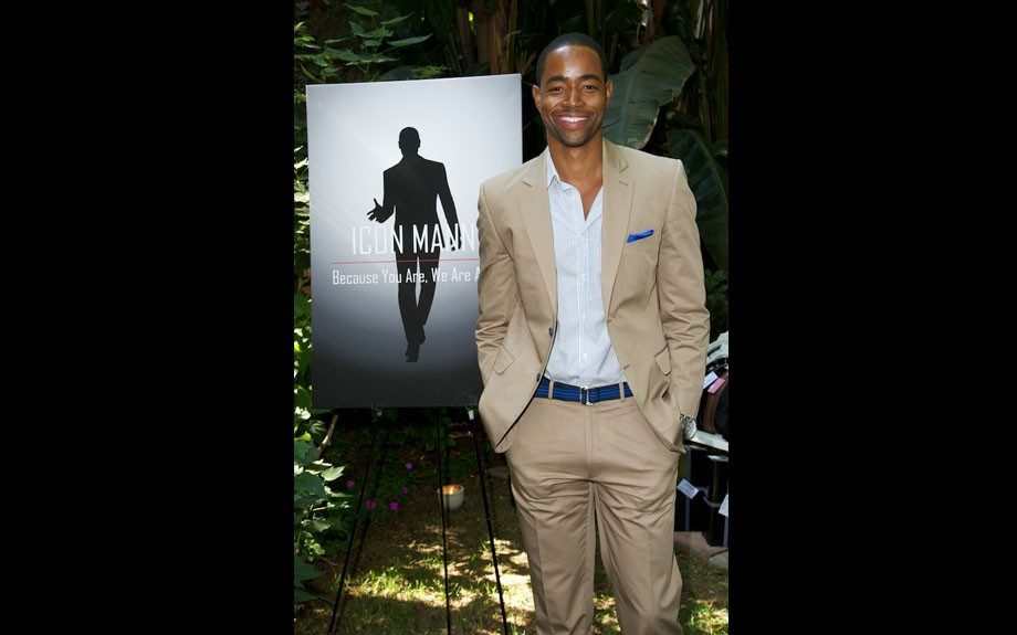 Jay Ellis of <em>The Game</em> maxes and relaxes