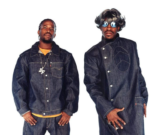 If A Tribe Called Quest were the original B-boy bohemans, OutKast follows that lineage: B-boy Big Boi (left) and bohoAndré 3000 (right)