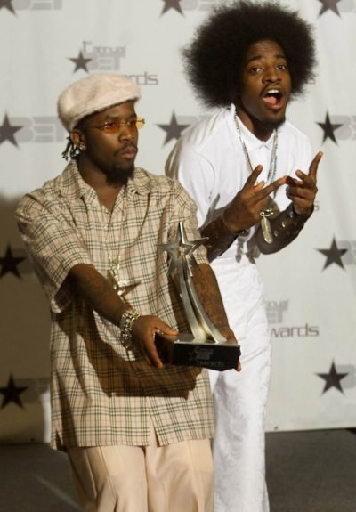 Big Boi and André 3000 score one of their first BET Awards
