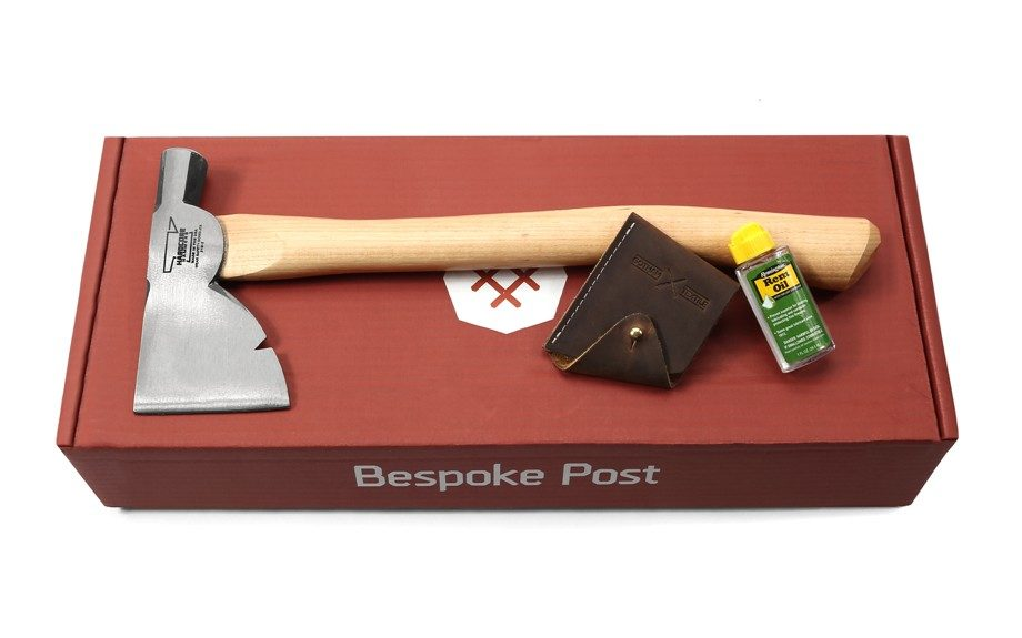 """<strong>For the outdoorsy guy, you'll appreciate the<a href=""""http://www.bespokepost.com/box/lumberjack"""" target=""""_blank"""">Lumberjack box</a>.</strong>"""