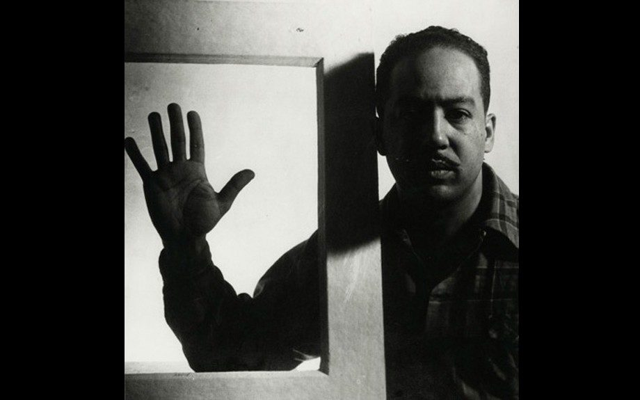 Langston Hughes Chicago Illinois 1941 Gelatin Silver Print 14 7